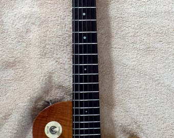 Gypsy Handmade Electric Guitar - Rosewood Neck with Black Limba Body