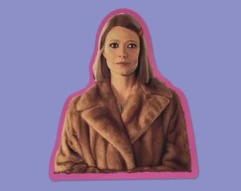 SALE - Margot Tenenbaum Vinyl Sticker
