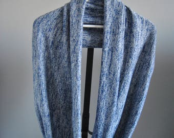 Infinity Scarf/Circle Scarf/Sweater/Blue/Fall/Winter/Spring