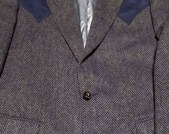 Brad Whitney Retro Vintage Western Wear Blazer ROCKABILLY VLV Jacket