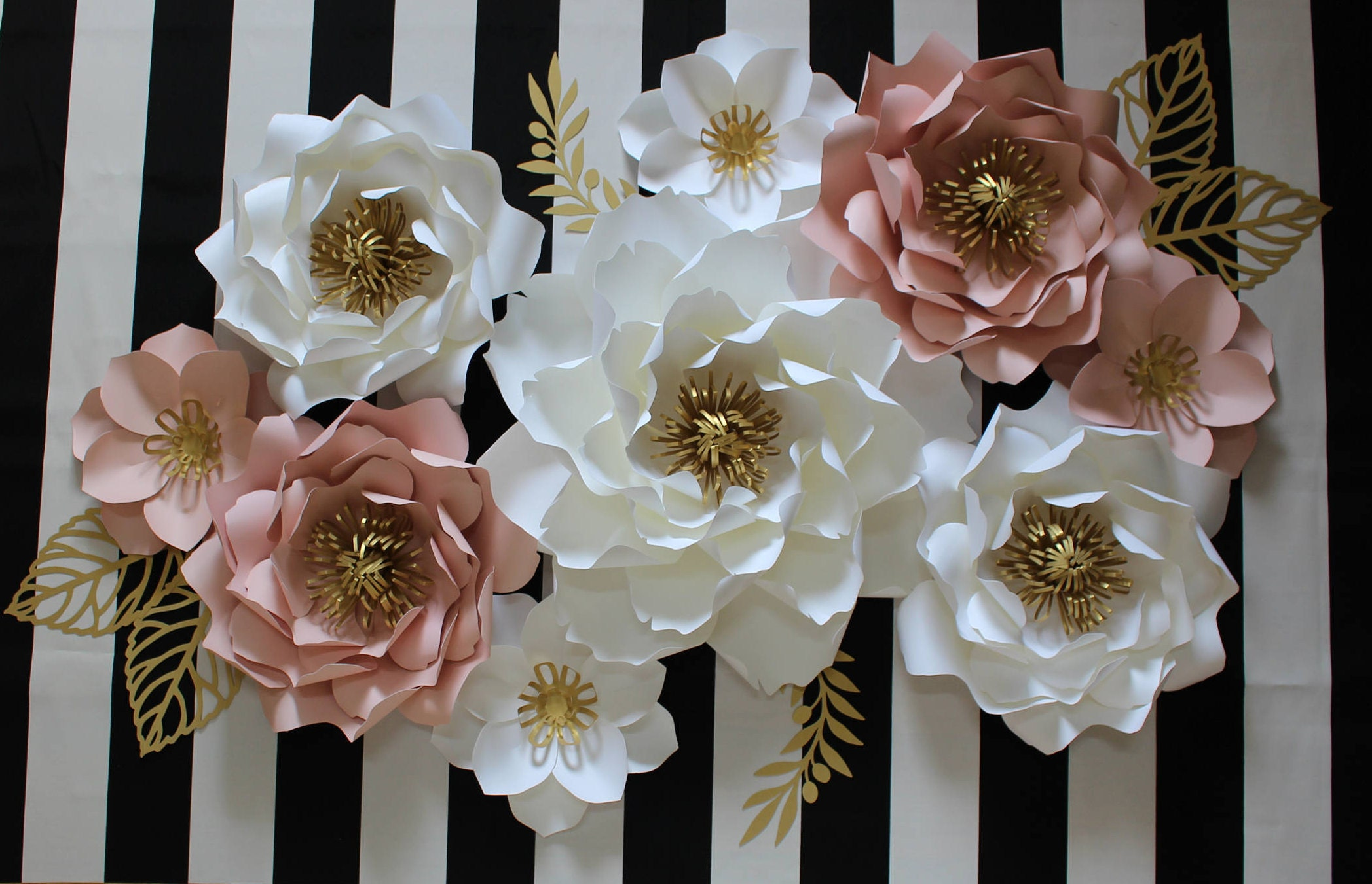paper flower backdrop paper flower wall decor paper flower wedding backdrop baby shower