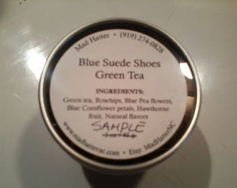 Blue Suede Shoes Tea