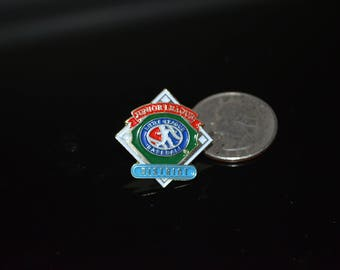 Vintage Little League Baseball: Junior League District Lapel Pin