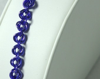 Purple Mobius Bracelet