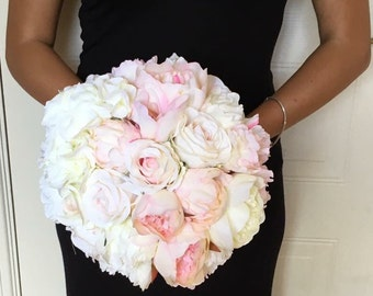 "The ""Lauren"" Artificial Wedding Flowers Bouquet"