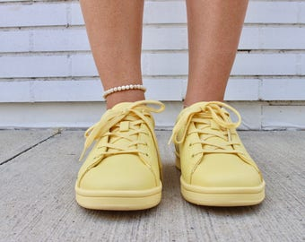 Stretchy Beaded Anklet - Sand // off white