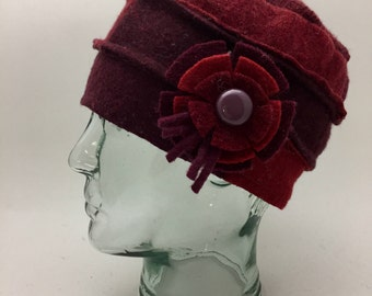 Baabaazuzu Felted Wool Cloche Hat