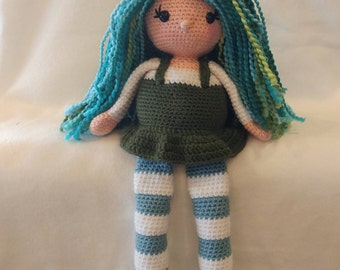 Crochet Doll - Fiona