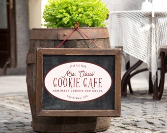 Mrs. Claus' Cookie Cafe SVG