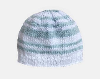 baby summer, lightweight cotton blend hand made Beanie Hat