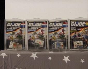 GI Joe 1987 Action Packs - Factory Sealed