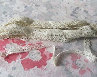 French lace edging ca 1900 original package