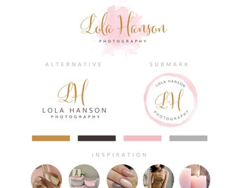 Premade Branding Kit | Logo Branding Package | Logo Design | Business Card Design | Calligraphy Logo | Brand Logo | Digital Logo Design
