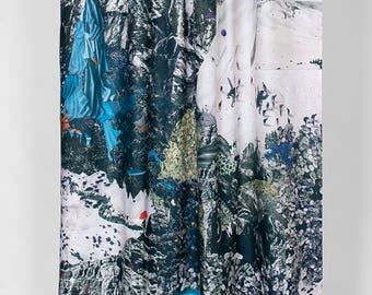 Shower curtain Montan