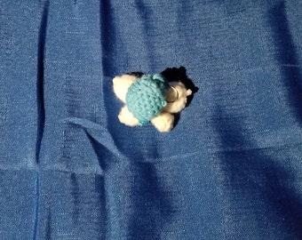 Legend of Zelda Navi Crochet Keychain