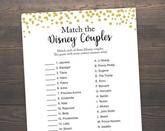 Famous couples game pdf