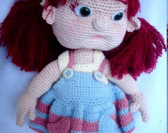 Amigurumi, Handmade Toy, Crochet, Little Girl, Doll, Crochet doll