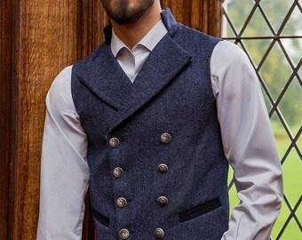 Gentleman's Regency Waistcoat (Lomond Tweed)