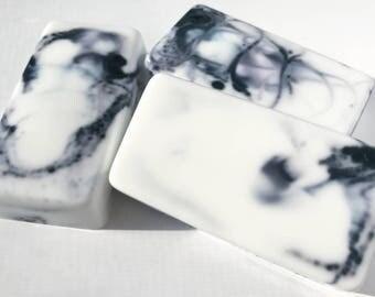 Marble Soap, party favor, handmade, bar soap, shower gift, gifts for her, lemon scent, gift soaps, modern, elegant, marble, bulk, wholesale