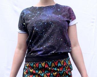Space Shirt 'Nebula' - Medium