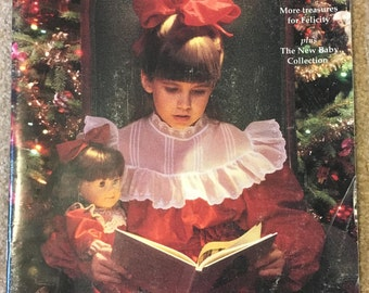 Pleasant Company 1992 Holiday Catalog featuring the American Girls Collection