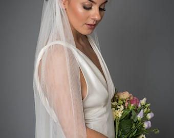 Enthrall Veil - Long Soft Tulle Bridal Veil by Miss Kay Seamstress