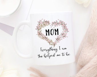 I Love You Mom Mug, Thank You Mom, Gift For Mom, Mug For Mom, Mom Mug, Mom Coffee Mug, Mom Gift, Mothers Day Gift, Birthday Gift For Mom