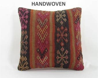 kilim pillow home decor kilim rug pillow cover throw pillow decorative pillows bedding bedroom decor pillows 000708