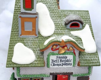 Santa's Bell Repair - North Pole Village Department 56