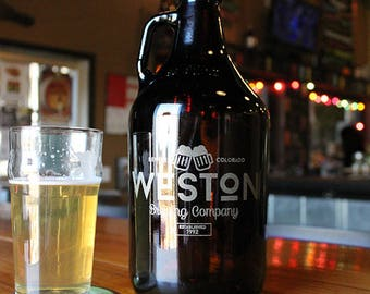 Custom 64 oz Craft Beer Growler