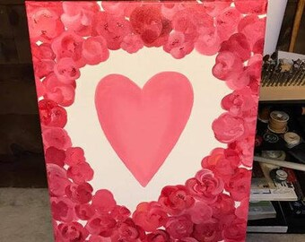 Personalized Valentine's Painting