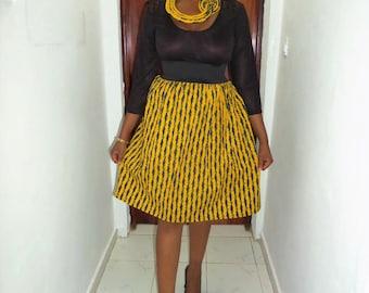 Short skirt size waist and wax (Ankara)