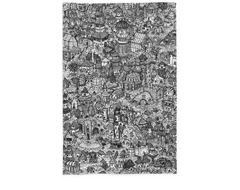 Fairy Houses (Print)