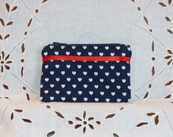 Wallet small hearts