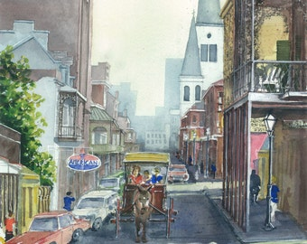 The French Quarter 1977 (Print)