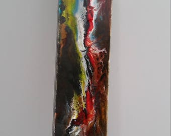 Abstract, acrylic and resin