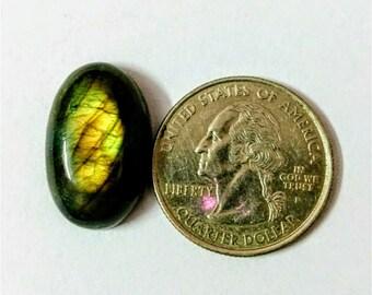 22.57 x 14.24 mm,Ovel Shape Labradorite Cobochon/Green Flash/wire wrap stone/Super Shiny/Pendant Cabochon/Semi Precious Gemstone/labradorite