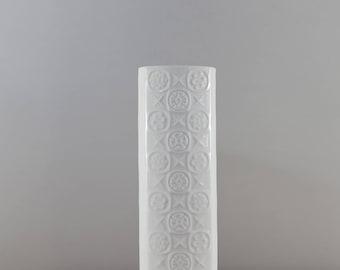 Op Art porcelain vase, Alka Kunst (AK Kaiser), 60s
