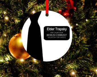 LDS Missionary Ornament*Missionary Gift*lds Missionary*Christmas Ornaments*Missionary Christmas Gifts*LDS Ornament*Called to Serve*LDS Gift