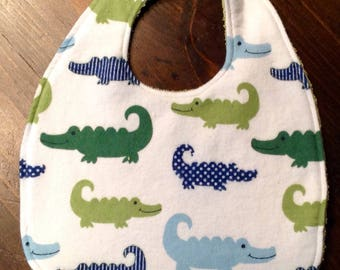 Baby Bib with Velcro attachment
