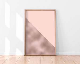 Pink Marble Wall Art, Marble Art Print, Pink Abstract Wall Art, Printable Wall Art, Instant Download Printable Art, Pink Printable Poster