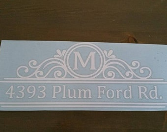 Mailbox Decal | Custom Mailbox Decal | mailbox | Personalized Mailbox | Address Decal | Mailbox address | Mailbox Decor | Mailbox Sticker