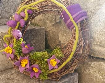 FrühlingsTürkranz mit Glockenblumen