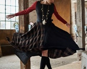 Plaid Two Step Dress SMAL...