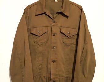 Olive Green Levi's Denim Jacket
