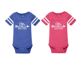 Little Brother Onsie, Little Sister Onsie, Baby Onesie, Baby Gift, Little Brother, Little Sister