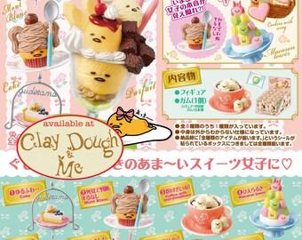 AUGUST 2017 Re-ment Sanrio Gudetama Sweets Mascot/Rement Gudetama Sweets Mascot/Re-ment Gudetama/Re-ment Sanrio