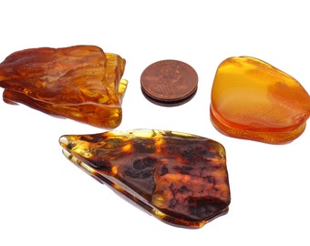 Baltic Amber RAW, cognac Amber stone, Loose Natural genuine precious stone,big Amber nodules, genuine amber gemstone, handcraft supplies, #4