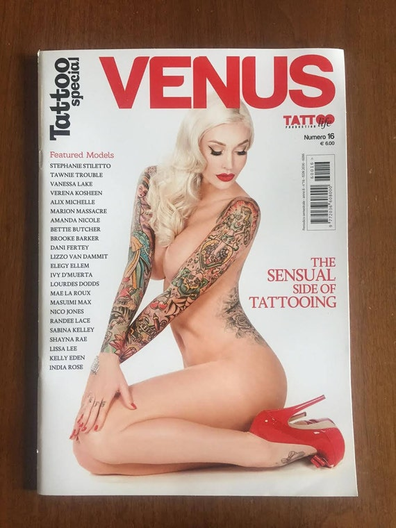 Venus -Tattoo Life Magazine- Sabina Kelley