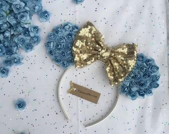 Cinderella Ears, Princess Cinderella Mickey Mouse Ears, Cinderella Birthday, Cinderella Minnie Ears, Cinderella Disney Ear, Blue Floral Ears